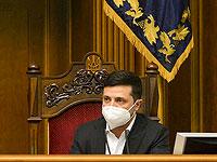 Президент Украины Владимир Зеленский сообщил, что заразился коронавирусом