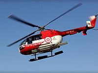 СМИ: на границе Саудовской Аравии разбился вертолет, пострадавшие доставлены в Израиль