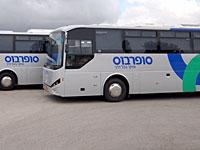 """В Хайфе пассажир избил водителя компании """"Супербус"""", забывшего открыть дверь"""