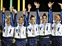 Израильтянки стали чемпионками Европы по художественной гимнастике