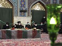 Церемония прощания с Фахризаде
