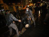 Бурные демонстрации в Иерусалиме: ранены полицейские , задержаны не менее 15 человек