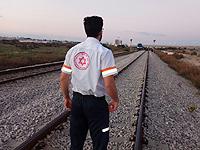 Неподалеку от Йокнеама поезд насмерть сбил женщину