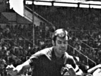 Густаво Пенья в матче чемпионата мира 1970 года Мексика - Италия
