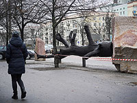 """""""Взгляд в прошлое"""": инсталляция в Киеве в Международный день памяти жертв Холокоста"""