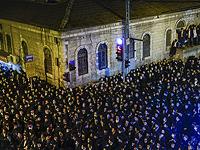 Похороны раввина Ицхака Шейнера: второе за день массовое нарушение карантинных запретов в Иерусалиме