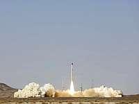 В Иране впервые испытана твердотопливная космическая ракета
