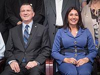 Министр здравоохранения Юлий Эдельштейн и министр транспорта Мири Регев
