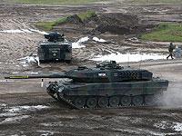 """Бундесвер установит на танки """"Леопард 2"""" израильскую систему активной защиты """"Ветровка"""""""