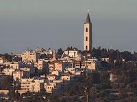 Вид на Елеонский монастырь со стороны Храмовой горы