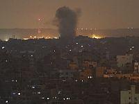 ВВС ЦАХАЛа атаковали цели в Газе в ответ на ракетный обстрел территории Израиля