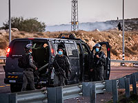 В районе Иерусалима подозреваемый протаранил блокпост, ранив бойца МАГАВа, и скрылся