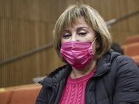Фаина Киршенбаум в суде 25 марта 2021 года