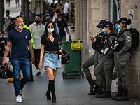 """Впервые с начала эпидемии: в Израиле не осталось """"красных"""" городов"""