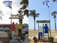 """Неизвестные вандалы осквернили памятник, установленный на месте теракта в """"Дольфи"""""""