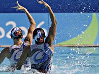 Синхронное плавание. Израильский дуэт завоевал бронзовую медаль Мировой серии