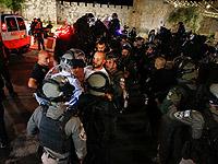 Ночные беспорядки в Иерусалиме. Пострадали четверо полицейских