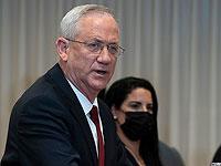 Ганц распорядился продолжать атаки на сектор Газы и утвердил призыв резервистов МАГАВ