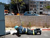 Поступило сообщение о еще двух попаданиях ракет в здания в Ашкелоне