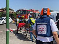 МАДА: после сирены в Ашкелоне госпитализирована в тяжелом состоянии пожилая женщина