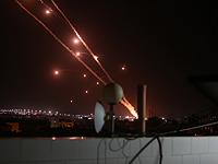 Ракетный обстрел центра Израиля и населенных пунктов в Негеве
