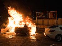 Арабские бесчинства: подожжена гостиница в Акко,