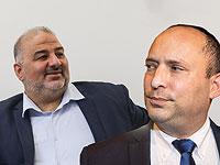 Нафтали Беннет и Мансур Аббас вновь обсудили возможность создания правительства
