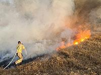 """На границе с сектором Газы вспыхнули не менее 20 пожаров из-за """"огненных шаров"""""""
