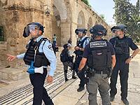 На Храмовой горе развернуты крупные силы полиции и МАГАВ