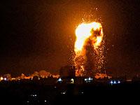 AFP: в результате ночных авиаударов по целям в секторе Газы повреждены сотни зданий