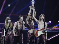"""Победителем конкурса """"Евровидение-2021"""" стала итальянская рок-группа Maneskin"""