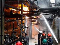 Взрыв на нефтехимическом заводе в иранской провинции Бушер