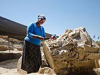 Раскопки базилики в национальном парке Тель-Ашкелон