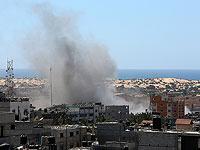 В секторе Газы при взрыве израильского снаряда погибли двое боевиков ХАМАС