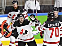Первым финалистом чемпионата мира по хоккею стала сборная Канады