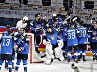 Финны победили немцев и вышли в финал чемпионата мира по хоккею