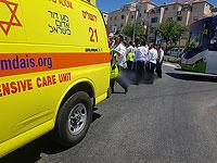 В Бейтар-Илите автобус насмерть сбил пожилую женщину