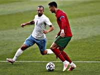 Криштиану Роналду забил. Португальцы разгромили сборную Израиля