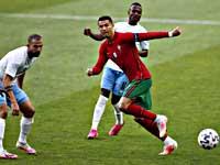 Криштиану Роналду забил в ворота израильтян 104-й гол в матчах за сборную