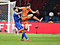Сборные Голландии и Украины установили рекорд чемпионатов Европы