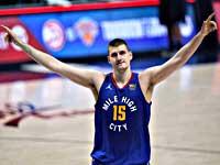Самым ценным игроком сезона НБА признан Никола Йокич