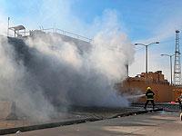 Пожар на фабрике в окрестностях Тегерана, более 20 пострадавших