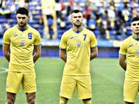 Перед Евро сборная Украины тренируется треугольными мячами