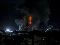 """ВВС ЦАХАЛа наносят удары по объектам террористов в Газе в ответ на """"огненный террор"""""""