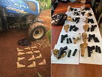 Полиция и ЦАХАЛ пресекли попытку контрабанды оружия из Ливана
