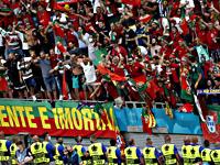 Стадион в Будапеште во время матча Венгрия - Португалия