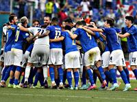 Сборная Италии установила рекорд чемпионатов Европы