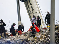 Обрушение жилого здания во Флориде, найдены тела 86 погибших