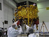 Лунный аппарат Берешит