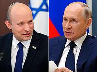 Беннет и Путин побеседовали и договорились о скорой встрече